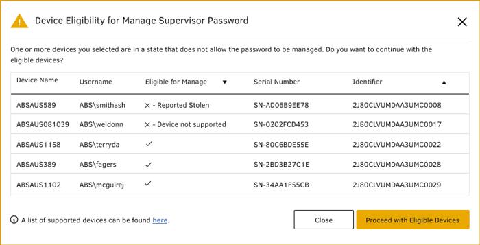 Lenovo Thinkshield Remote Supervisor Password   Absolute